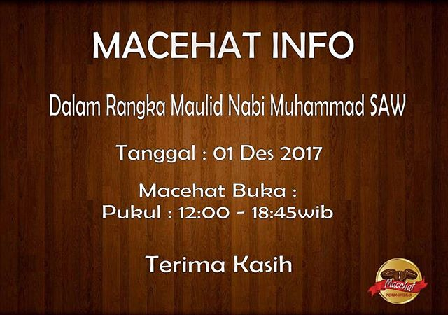 Macehat Info..