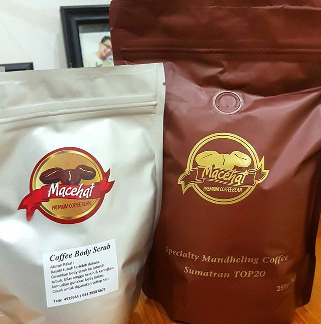 #Repost @tinktink_1711 (@get_repost)・・・Premium Coffee Bean &Coffee Body Scrub.. Lets to try it #arabica #coffeearabica #macehat @macehatcoffee #scrub #coffescrub