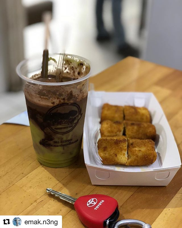 #Repost @emak.n3ng with @get_repost・・・#macehat #macehatcoffee #coffe #kulinermedan